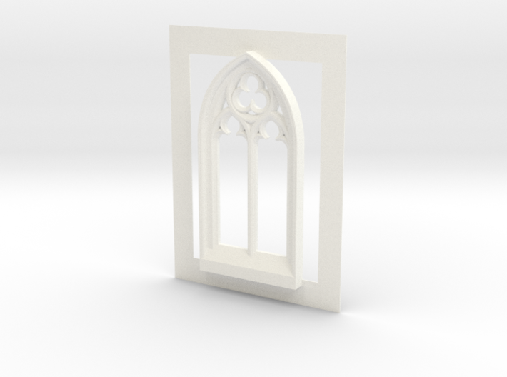 Gothic window  3d printed