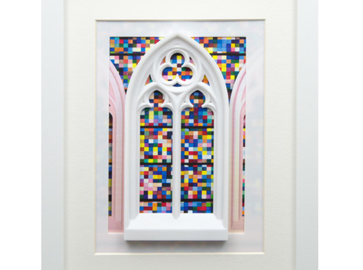 Gothic window  3d printed Frames and background pictures are not included!!