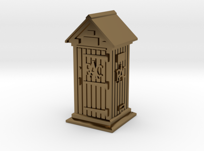 35mm/O Gauge RAC Phone Box 3d printed