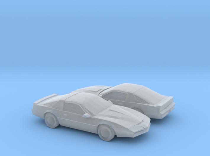 1/200 2X Pontiac Firebird Custom 3d printed