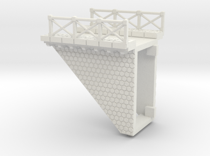 NV3M9 Small modular viaduct 1 track 3d printed