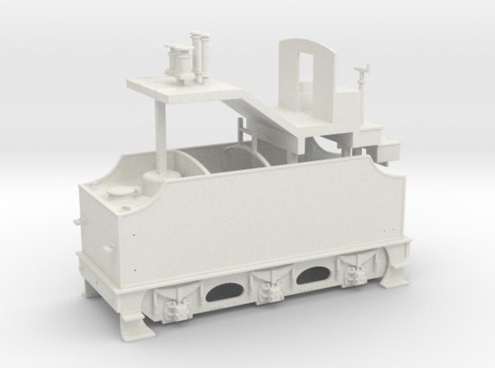 Fowler Tender - Body - Freelance Variant 3d printed