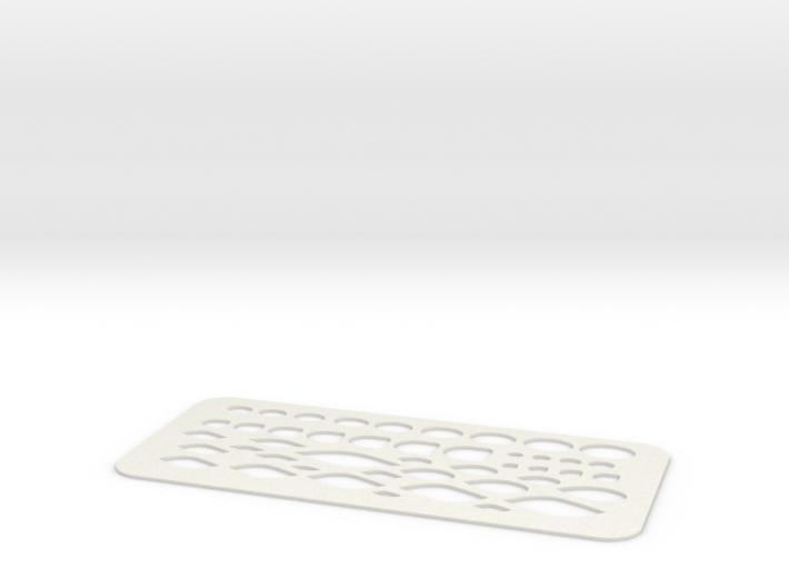 Cutting-template-paragon 3d printed