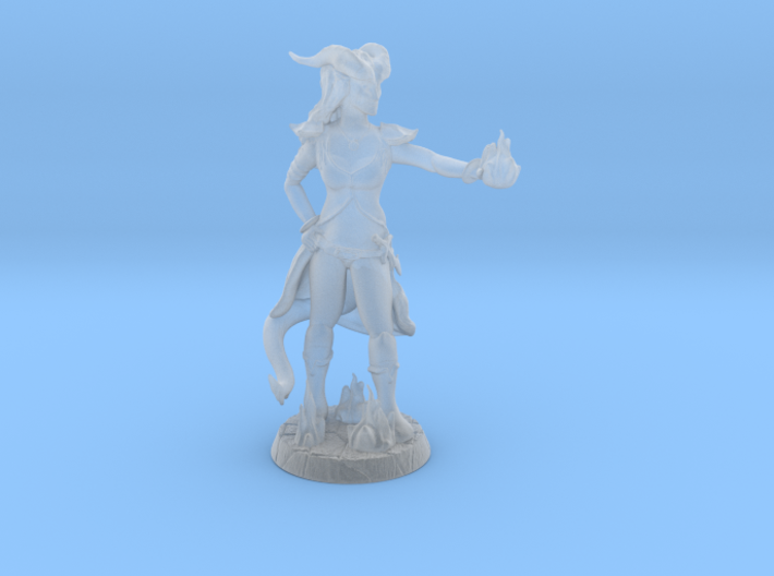 Lerissa with Custom Base 3d printed