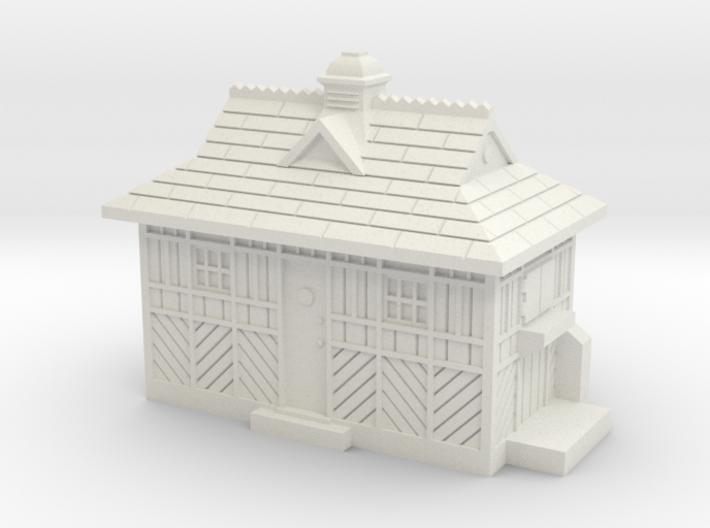 TT Gauge Cabmens Shelter 3d printed