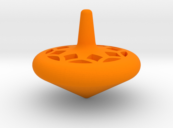 Tiny Spin Top  3d printed