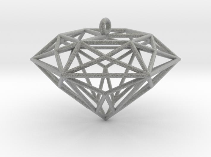 Diamond Ornament 3d printed