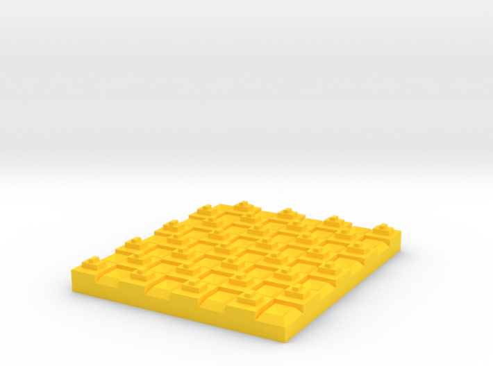 Checker 3d printed