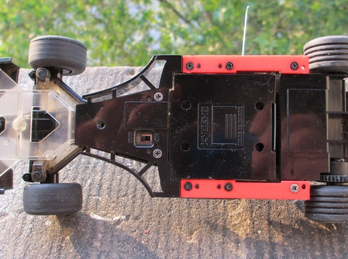 Suspension plates for Mini-z F1 3d printed