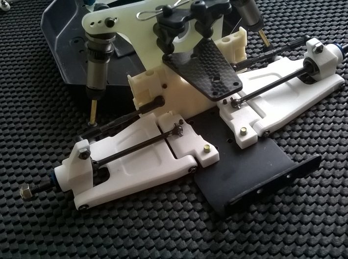 '91 Worlds Conversion - Rear Arm 3-3 Mounts 3d printed