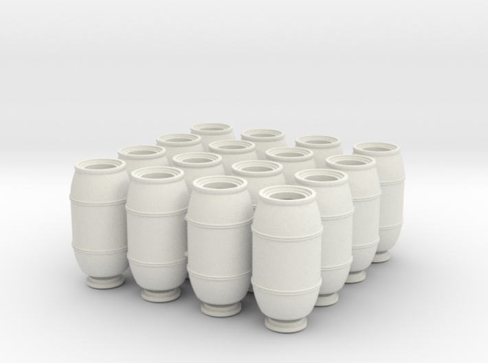 DeAgo Falcon Main Hold Floor Barrels 16 pieces 3d printed