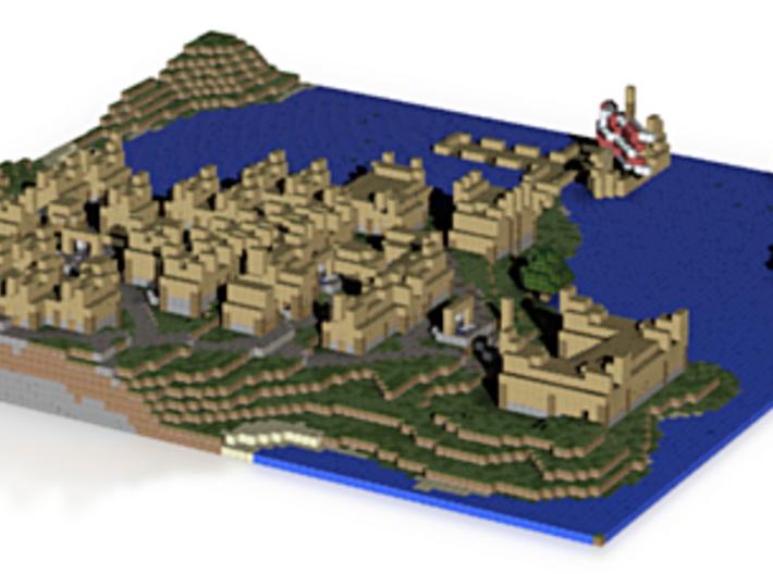 Viking Village 3d printed