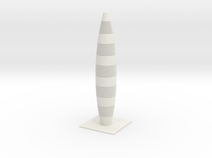 Anki & Guild Cityscape - The Bowling Pin 3d printed
