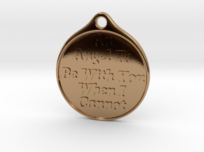 Angel-keychain 3d printed