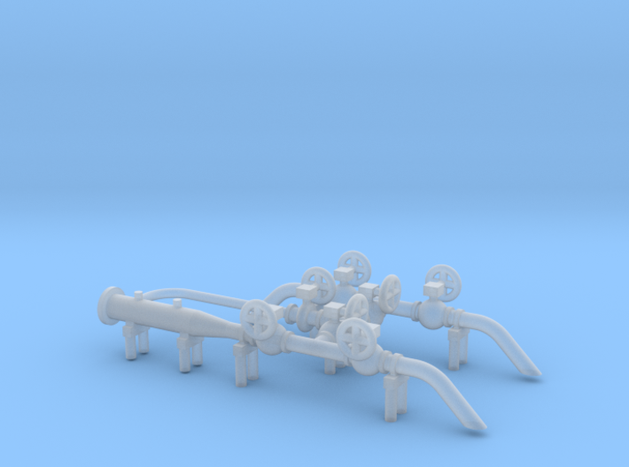 HO Scale Pig Launcher 3d printed