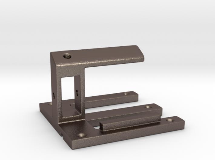Cell phone holder for desk 3d printed