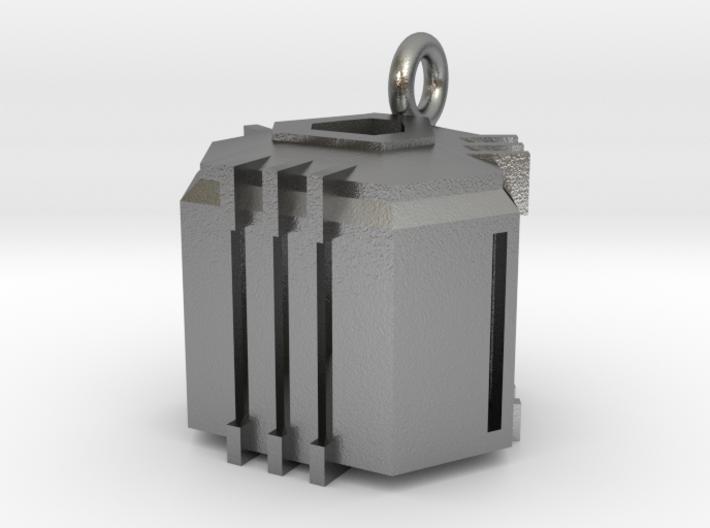 Ingresss Capsule Pendant 3d printed