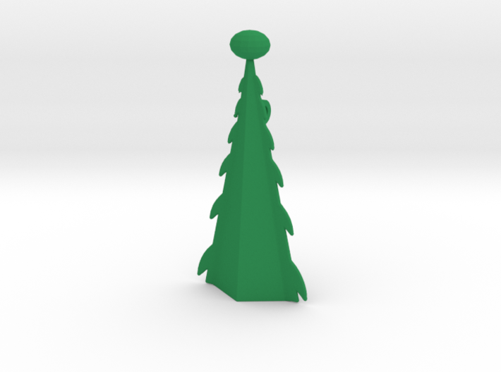 Christmas Tree Pendant. 3d printed