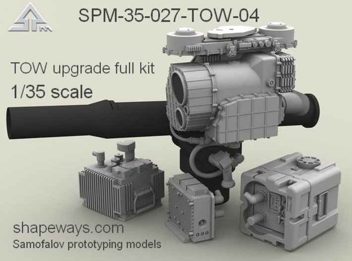 1/35 SPM-35-027-TOW-04 TOW upgrade full kit 3d printed