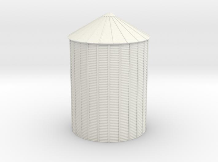'N Scale' - 48' Diameter Grain Bin - 60' Tall 3d printed