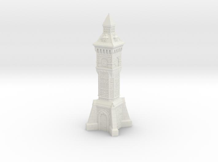 HO/OO Gauge - Victorian Clock Tower 3d printed