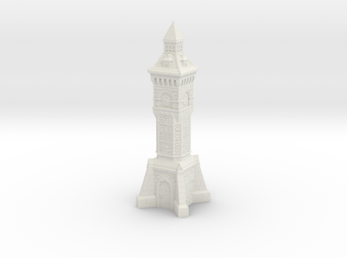 28mm/32mm scale Victorian clock Tower 3d printed