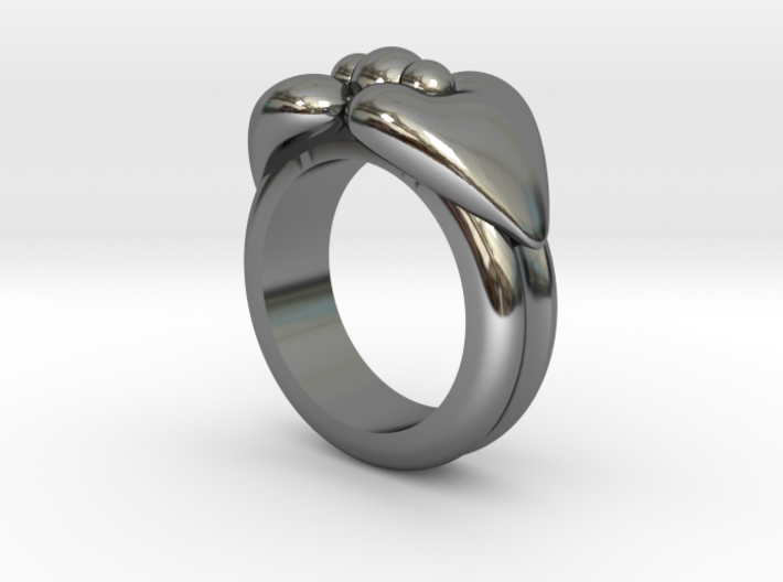 Rings Size 6 3d printed