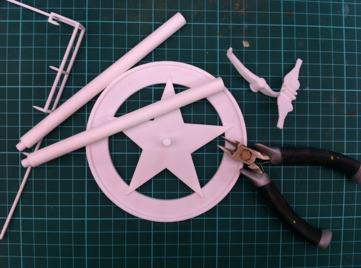 P51D Mustang stand,1/56 scale,28mm wargames 3d printed Do not need glue