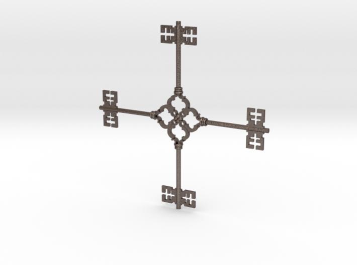 Keyflake 3d printed