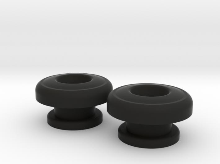 Guitar Strap Buttons - Big Button 3d printed