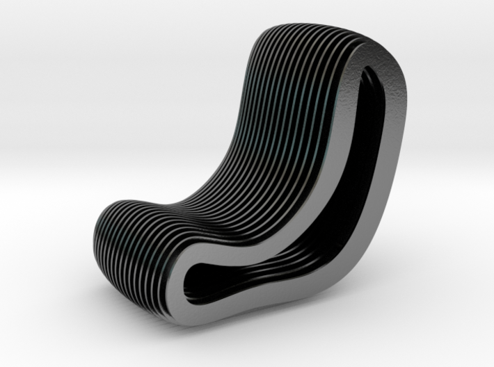 Delight Chair 3d printed
