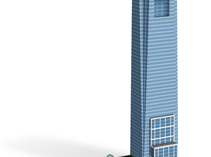 Comcast Center - Philadelphia, PA 3d printed Shapeways render.