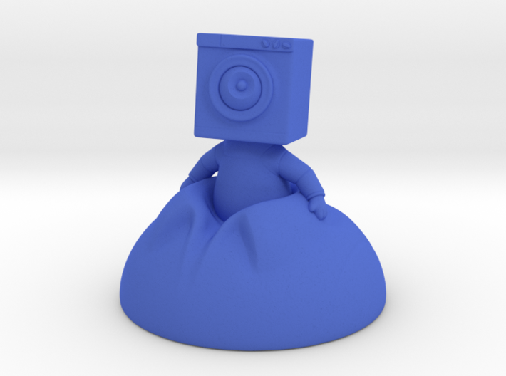Washtronaut 3d printed