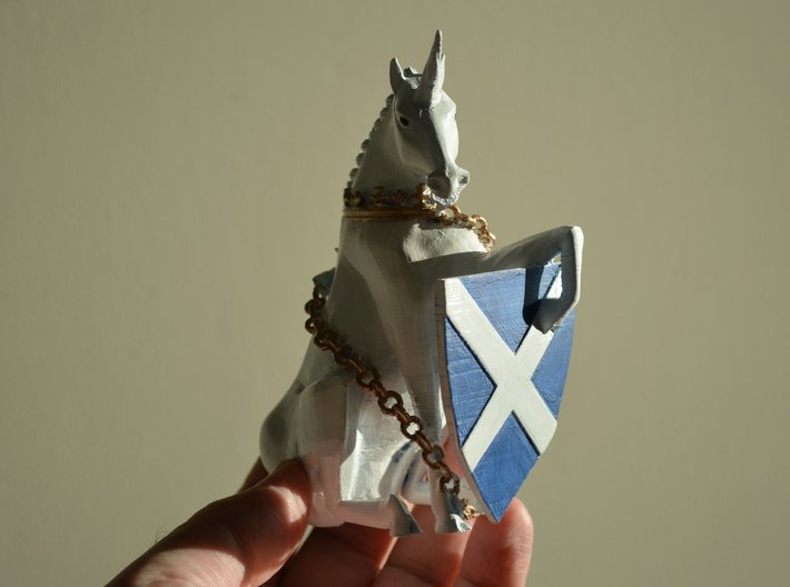 Unicorn 3d printed Example printed on our own 3d printer and painted, not printed by Shapeways