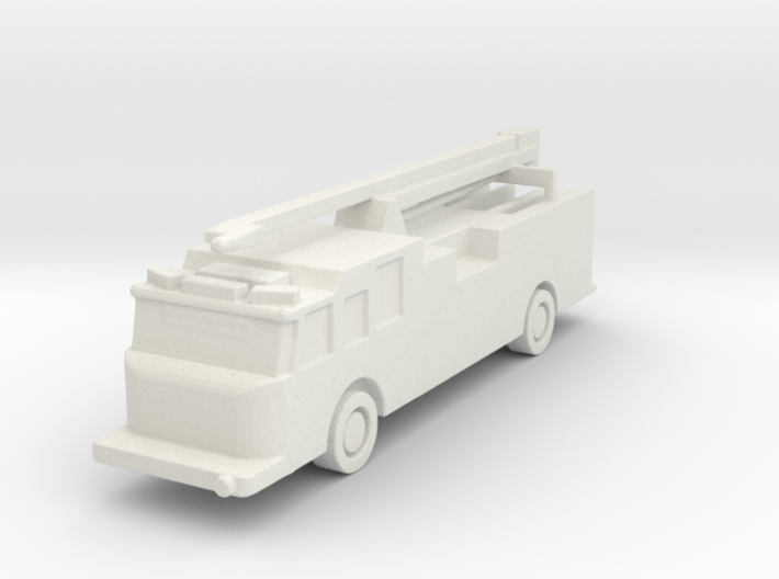 1:285 Pierce Impel Pumper with Squirt 3d printed