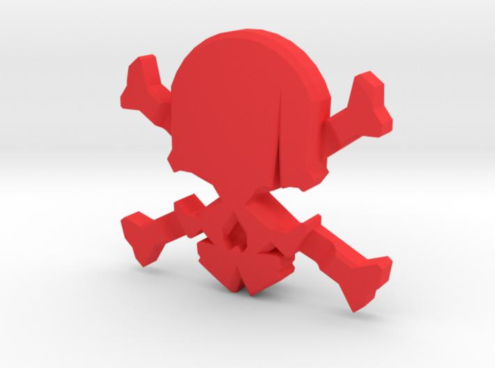 NEW! Skull & Bones NUT, for M6 x1 Screw 3d printed