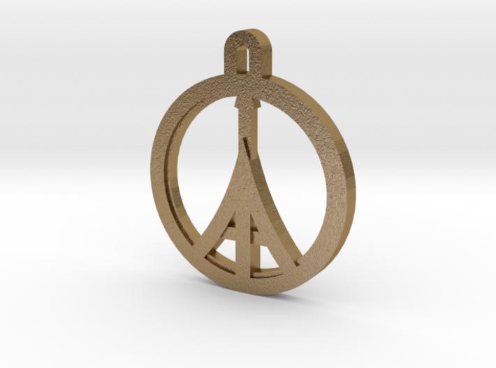 Paris Peace 3d printed