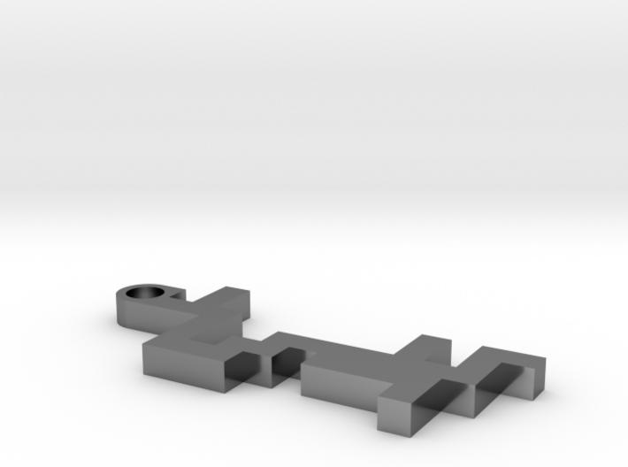 Maze Pendant 2 3d printed