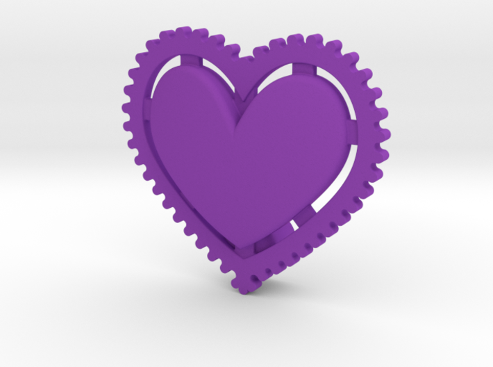 NEW! Fixie Heart NUT, for M6 x1 Screw 3d printed