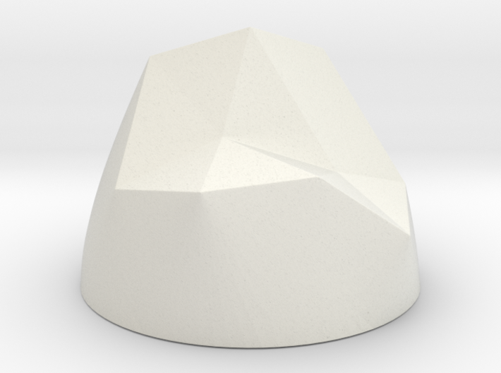 Pen & Paper Rock for 1 Inch field 3d printed