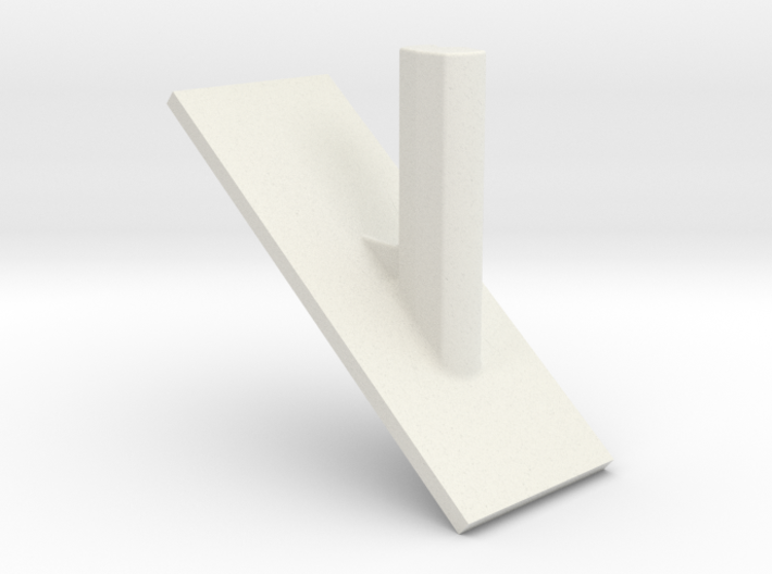 Oral-B toothbrush head hook for your wall 3d printed