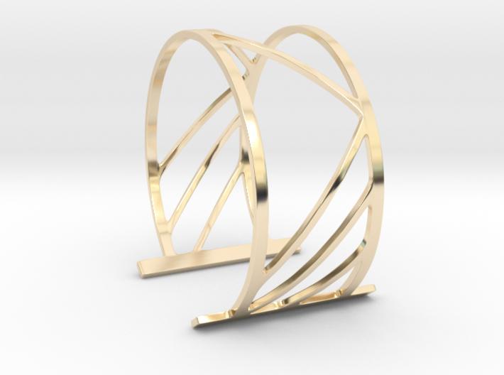 Subgeometric 2_Large 3d printed