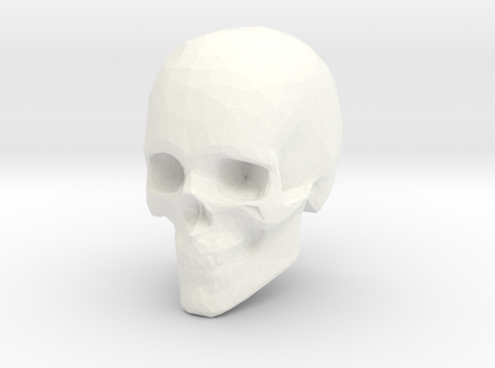 NEW! Skull NUT, for M6 x1 Screw 3d printed