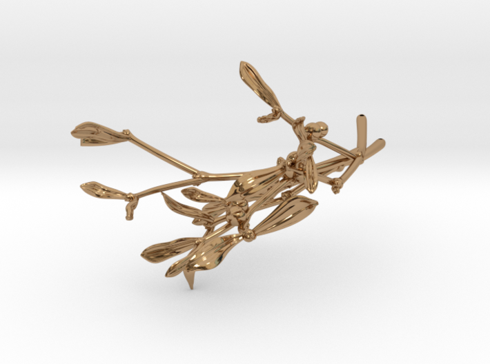 """Mistletoe- 4"""" 3d printed"""