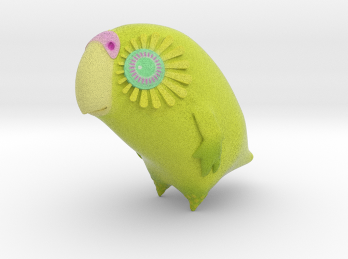 Kakapo Baby (29mm) 3d printed