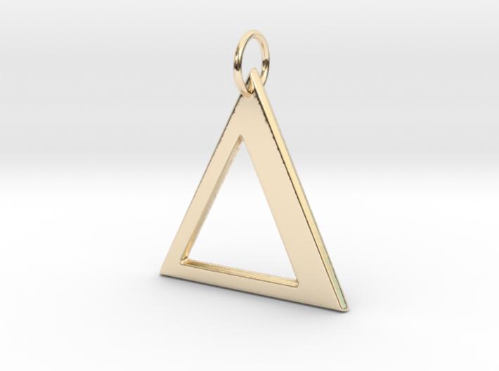 Delta Pendant 3d printed