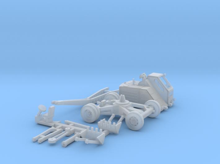 Bagger T172 mit Greifer (1:120) 3d printed