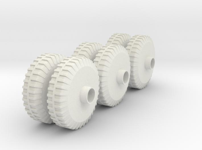M20 APV Wheels(1:18 Scale) 3d printed