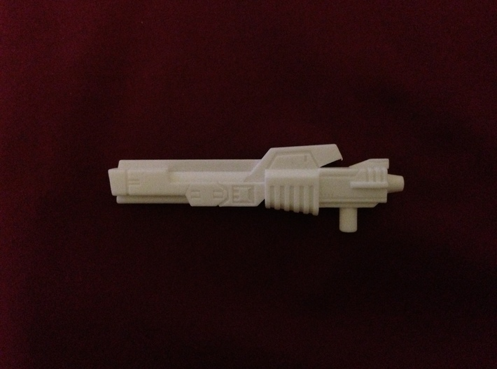 Protector Rifle 3d printed