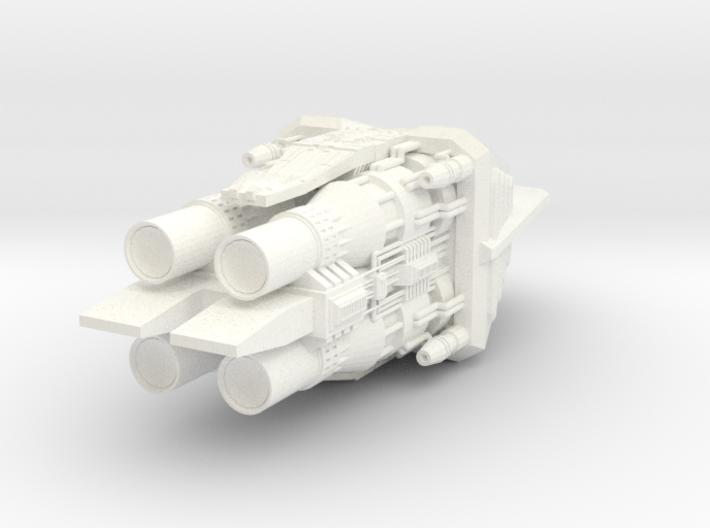 4222 Omega Engines 3d printed